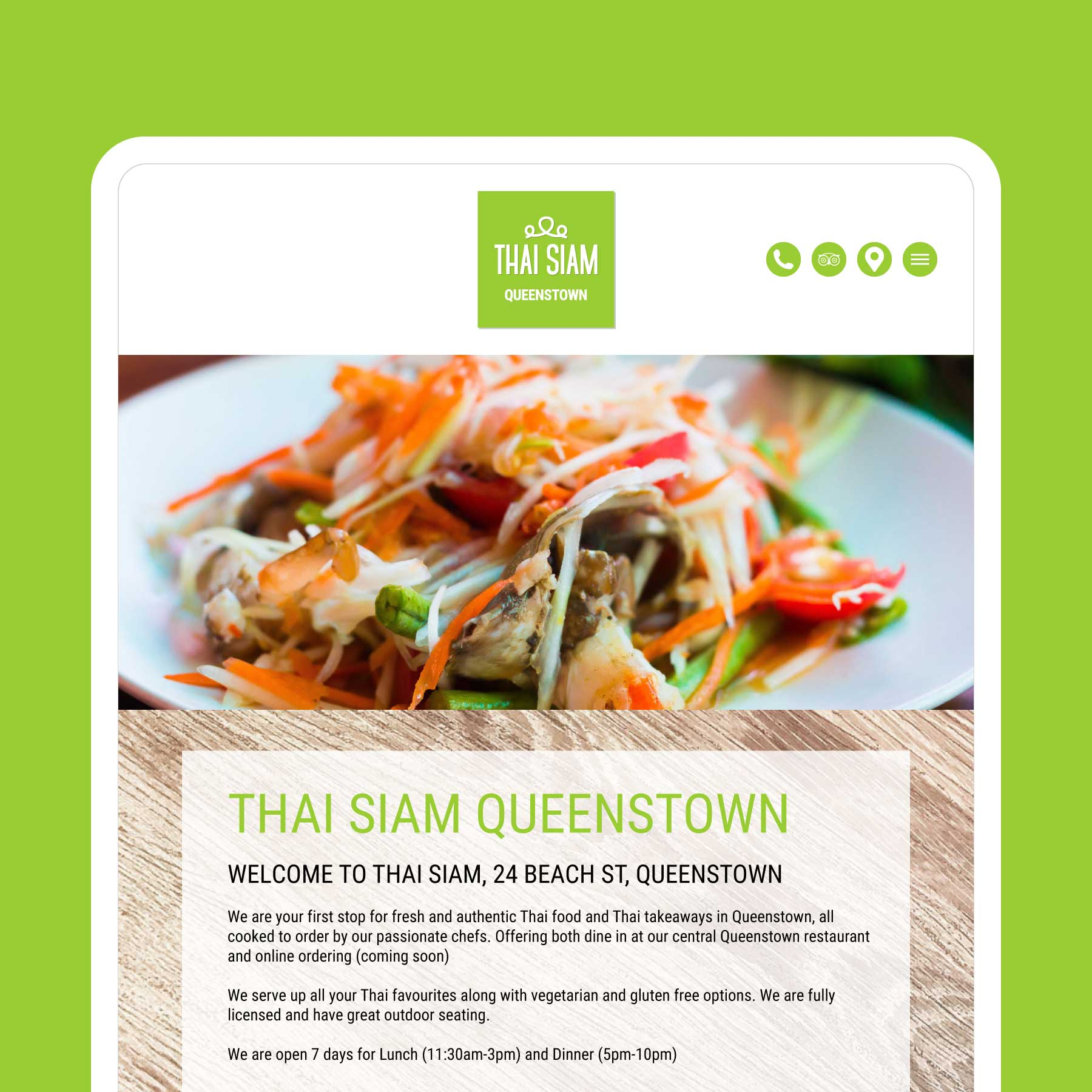 Thai Siam Website