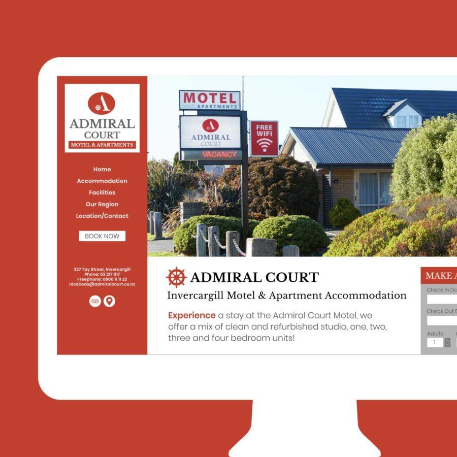 Admiral Court Website