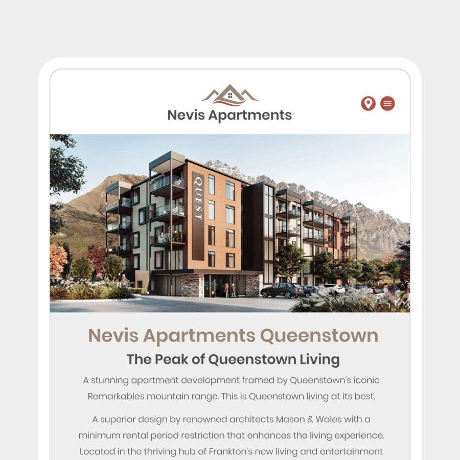 Nevis Apartments Website