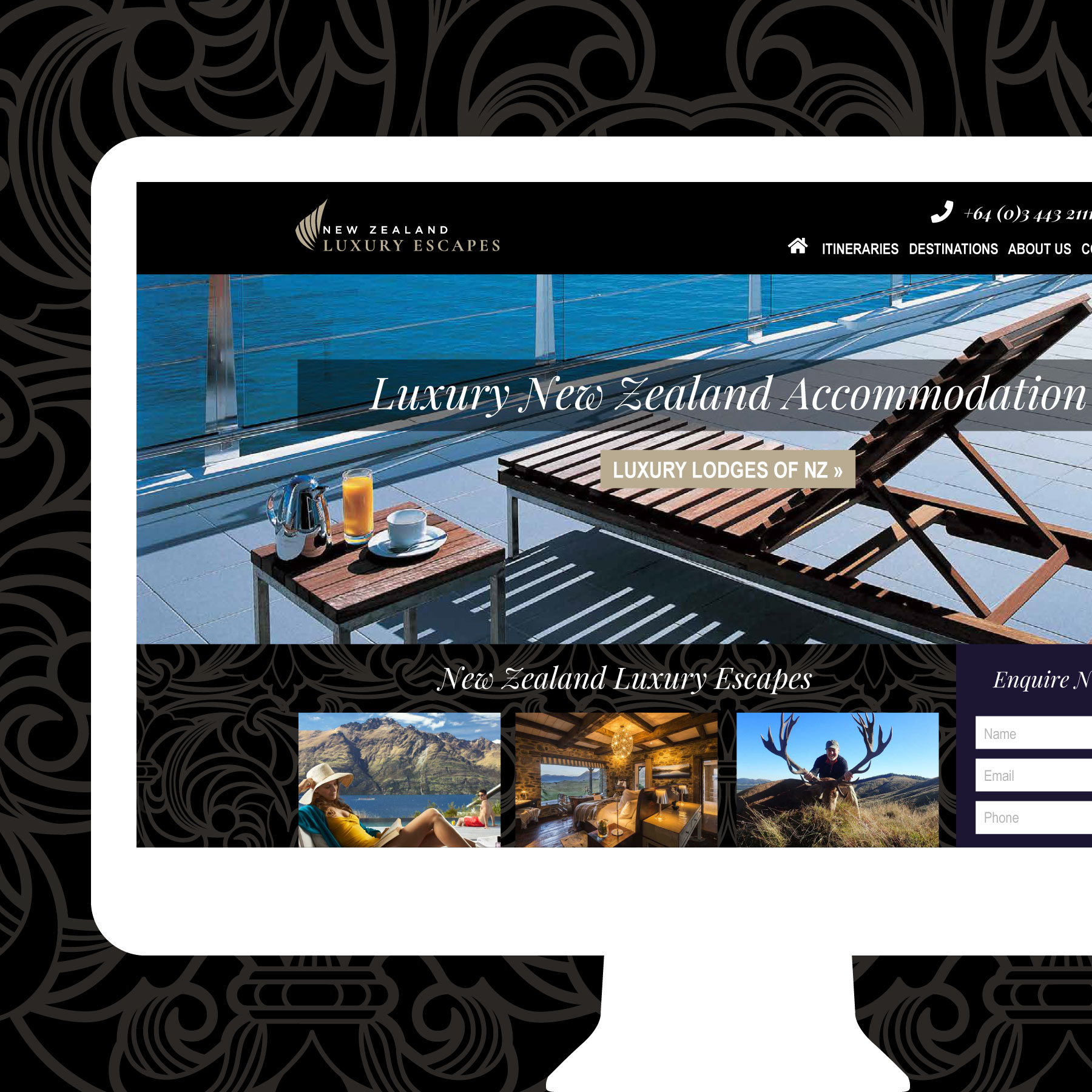 NZ Luxury Escapes Website