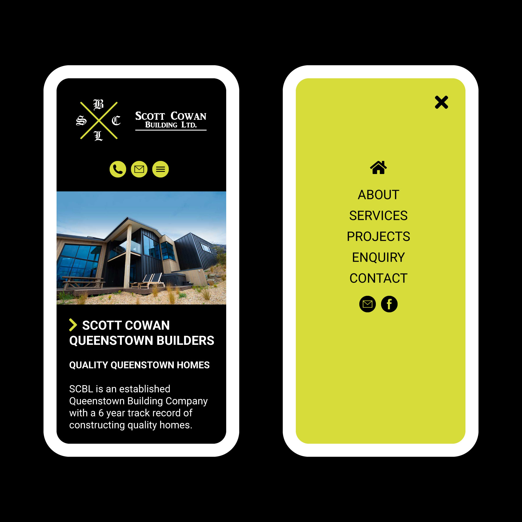 Scott Cowan Builders Website