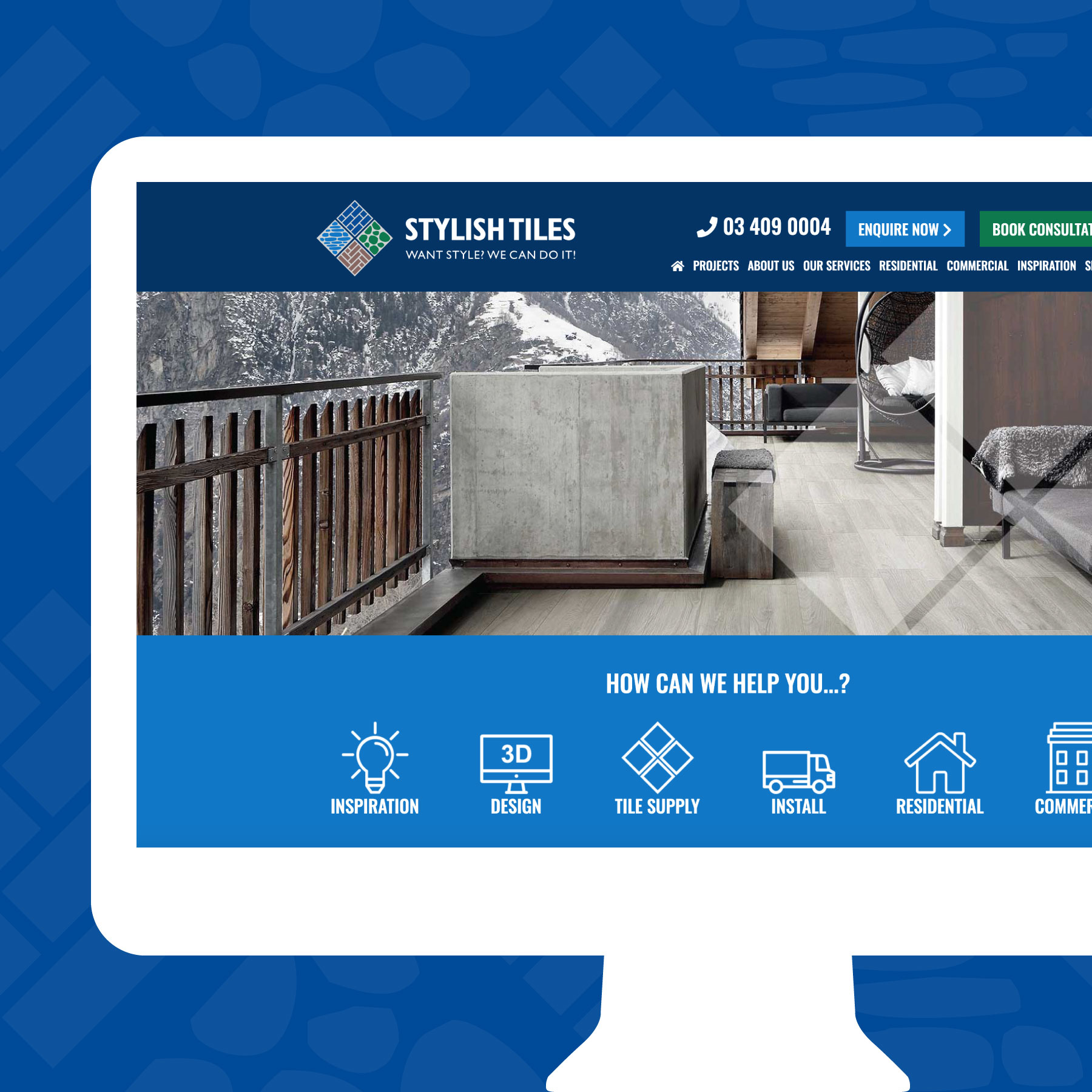 Stylish Tiles Website